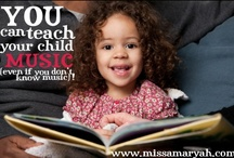 MissAmaryah.com : Blog about Music, Teaching & Learning / by Amaryah LaBeff