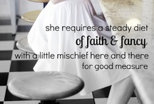 faith & fancy / more faith than fancy / by Katie Drain