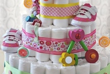 Diaper Cakes of all kinds / by BABY SHOWER STATION.com