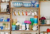 Cocina / Kitchen / Small kitchen, apartament kitchen, Kitchen decor ideas, kitchen supplies / by Paulina Cabanillas