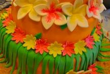Hawaiian Luau Theme / by BABY SHOWER STATION.com