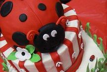 Ladybug Theme / by BABY SHOWER STATION.com