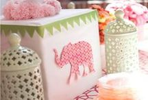 Elephant Theme / by BABY SHOWER STATION.com