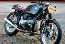 2 wheels with Class / Cool Bikes / Brêles classieuses / by Lewis Wingrove