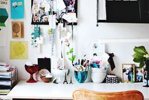 Escritorio / Home office / by Paulina Cabanillas