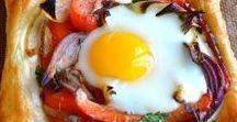 Scrumptious Breakfasts / As a B&B, we are half breakfast!