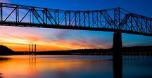 Madison / A beautiful drive via the Ohio River Scenic Byway and only 20 miles west of Vevay Indiana.