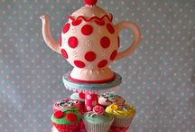 tea party-alice in wonderland / by Kim Johnson