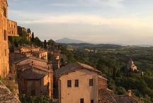 Montepulciano - Tuscany / Montepulciano, one of the most beautiful hilltowns of Southern Tuscany (#Montepulciano #Tuscany  #Italy)
