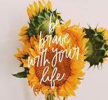 Inspirational Quotes / Inspirational quotes, words, love, phrases, joy