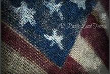 Red White Blue/Honor/Remember... / American / by Sandra Dunnells