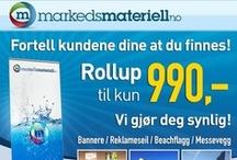 """markedsmateriell / """"Velkommen til Markedsmateriell - Din totalleverandør av alt innen markedsmateriell rollup, markeds markedsmateriell, roll-up, beachflagg, messevegg, Banner, reklameseil og fasadeseil messevegger, rollups, roll-ups, beachflagg, beach banner, square beachflagg, Grafisk design over hele Norge-norway """" banner, reklamebanner, fasadebanner, reklameseil, rollup, roll-up."""