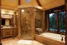 Dream Bathrooms / Ideas for bathrooms in the Forever House and all the interim ones. / by Jenn Cross