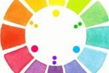 paint color wheels / by Lila Wickham