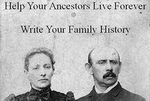 Genealogy / I have been tracing ancestors in both my lines and my husband's lines for many years.  I do this as time permits and I absolutely love it! It's a huge puzzle that walks us through history. Not only do we discover information about our family members, we learn what was happening in the world around them during their place in time. For me, genealogy research is a never ending treasure hunt. I hope you are enjoying your research as much as I enjoy my own! / by Robin Adryan