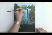 paint acryl videos / by Lila Wickham
