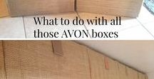 """AVON Stuff for Avon Reps / A place to share ideas on events, displays, storage, etc. If you would like to be a contributor to the board, click """"follow board"""" and send me a message that you'd like to be added. You will have to accept my invite to complete the process."""