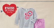 B'GOSH BE MINE / Plan a Valentine's date with your OshKosh kids starting with valentines outfit inspiration and parent/child date night ideas.