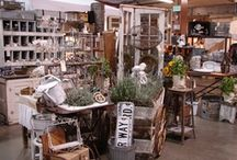 Ideas! Flea Market LOVE / Ideas for Flea Market Venues - things to create and spaces to design...
