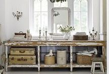 Repurposed Home Decor | Furnishings / Whether you call it Repurposed, Recycled, Salvaged, or Upcyled - finding NEW uses for OLD items is just so much fun!!! | Vintage Home Decor