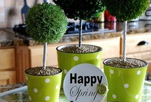Hip Hop - Easter ✿ Spring Delights / Inspiring home decor and Easter decorations.