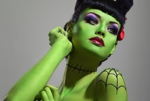 Haunted Halloween ☠ / Lots of great costume and makeup ideas from tons of talented folks - all about Halloween - I LOVE it...