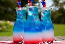 ✩ Red | White | Blue ✩ / The Fourth of July, Independence Day, or whatever you want to call it - it is the BEST day of Summer.
