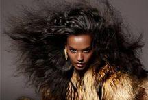 Bad A** Big BIG & Messy / Wild crazy hair expressions / by Deirdre Monique Austin