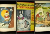 Vintage Storybook Reading For Little Folks / What antique and vintage books did children read from the mid Victorian to early years of the 20th century? Pull up a chair and browse the shelves to enjoy children's favorite books of the past.     / by The Gatherings Antique Vintage