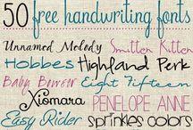 Other / fonts / Fonts, lists etc.