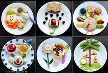 Kid Food - Plain Cute / Entertain your kids with Festive Food.