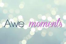 Awe moments