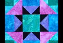 Block Library - Free Quilt Block Tutorials / Each week I share a quilt block tutorial in 6″ and 12″ finished sizes. / by Michele Foster