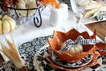 Set The Table / Table settings for holidays, special gatherings, or everyday awesomeness.