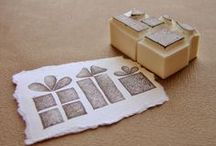 Timbriamo! / Rubber stamps, tutorial and uses.