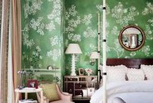 Floral Prints / Find design inspiration in these  elegant spaces filled with beautiful floral patterns that elevate spirits–and style–year round / by Architectural Digest