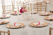 Wedding Centerpieces/Table Setting