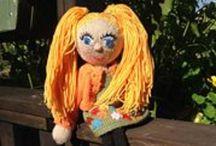 Strikkedukker / Knitted dolls