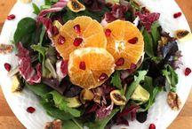Vegan salads / Vegan salads salade vegetables