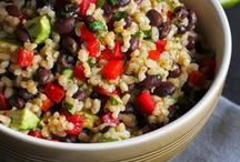 Salad: Grains / This board is filled with delicious grain-filled salad recipes from some of my favorite blogs around the web.  Thanks for stopping by! -- Dara / by Cookin' Canuck | Healthy Recipes