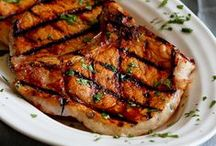 Entrees: Pork / This board is filled with delicious pork recipes from some of my favorite blogs around the web.  Thanks for stopping by! -- Dara / by Cookin' Canuck | Healthy Recipes