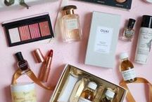 BEAUTÉ. / Perfume, skin care, makeup, beauty.