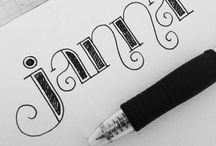 Graphics - Doodles, Calligraphy, Illustration / by Lilli M