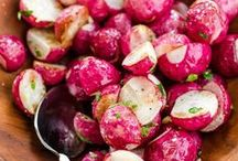 RECETTES D'ACCOMPAGNEMENTS. / Delicious recipes for side dishes - great for potlucks, too!