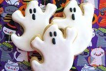Halloween / Terror-ific Cookie Treats from Isabella's Cookies. http://isabellascookies.com/