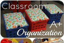 Classroom Organization / Tips and tricks for keeping your classroom organized