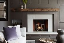 Fireplace Ideas / by Laura Pole-Tree