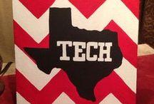Texas Tech Red Raiders / Texas Tech University school pride!