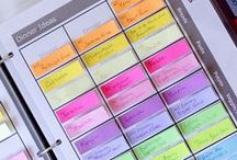 Get It Together / Planners, Organizing, Goal Sheets, Time management