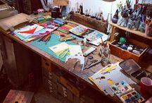 artists, art & studios